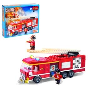 Конструктор «Пожарная машина», 219 деталей
