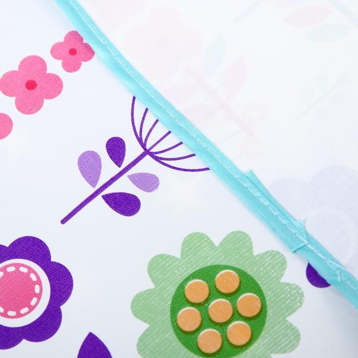 Клеёнка с ПВХ-покрытием, 50х70 см, цвета МИКС