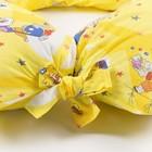 Подушка АДАМАС КОМФОРТ для беременных, размер 35х100х280 см, холлофайбер, чехол МИКС - фото 105543838