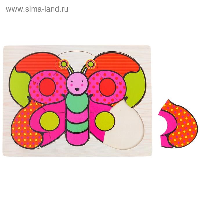 """Рамка - вкладыш """"Цветная бабочка"""""""