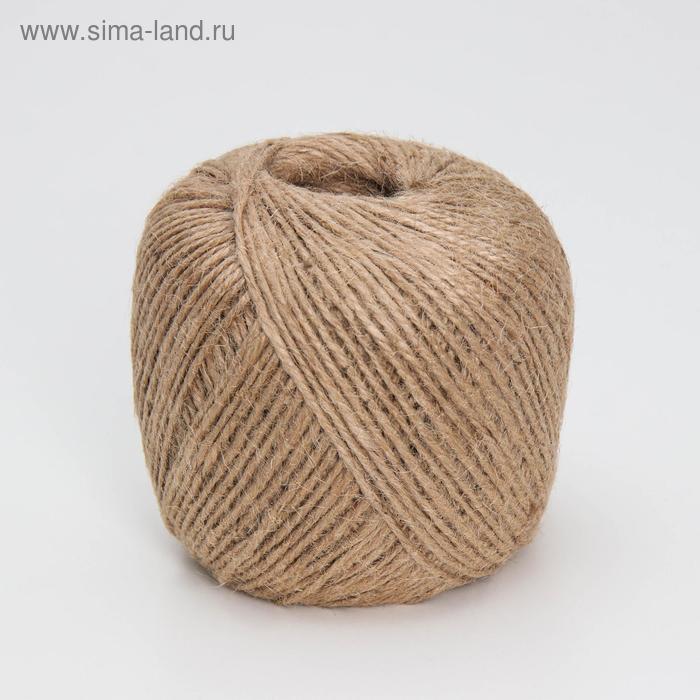 Шпагат джутовый, 175 м, 3 нити (1,68 КТекс)