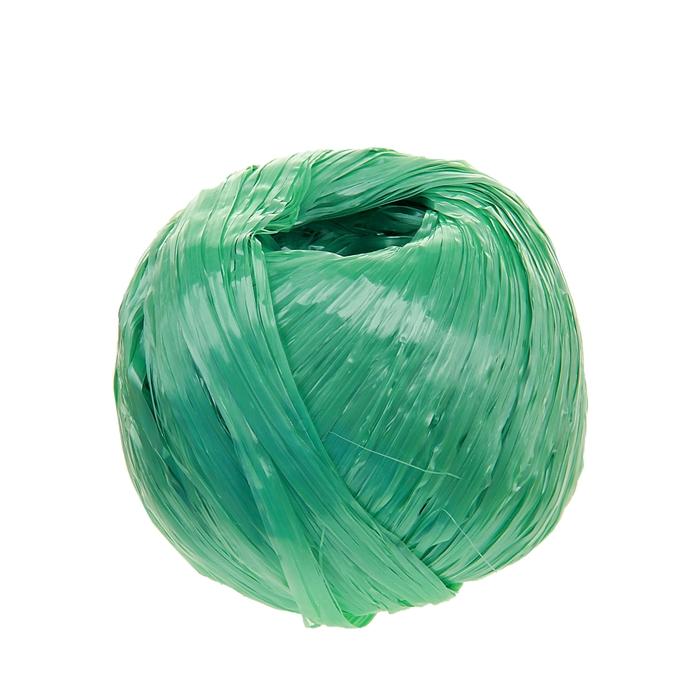 Шпагат полиэстер, 120 м, цвет зеленый (1,0 КТекс)