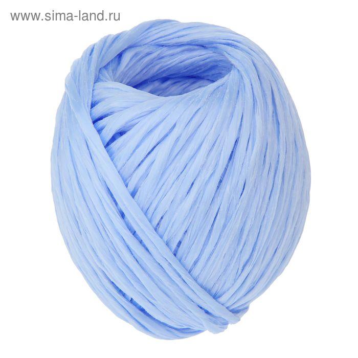 Шпагат полипропиленовый, 60 м, цвет синий