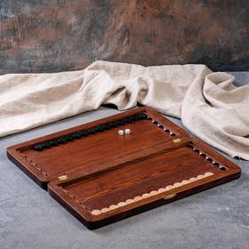 "Backgammon ""Simple"" medium, ash"