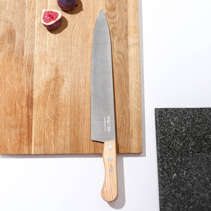 """Нож универсальный 37,5 см """"Поварская тройка"""", лезвие 25 см"""