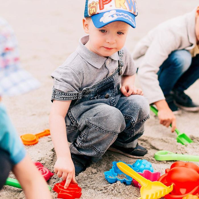 Набор песочный №178 (лопата, грабли)