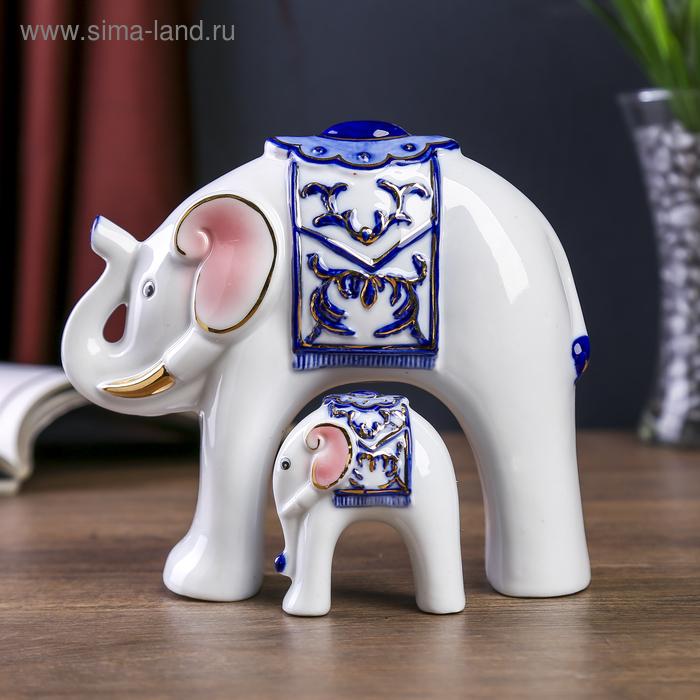 """Сувенир """"Три слона"""", в наборе 3 шт"""