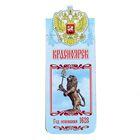 Bookmark magnetic Krasnoyarsk