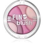 Румяна Bell, многоцветные, Colour fun multi blush, тон 1