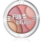 Румяна Bell, многоцветные, Colour fun multi blush, тон 2