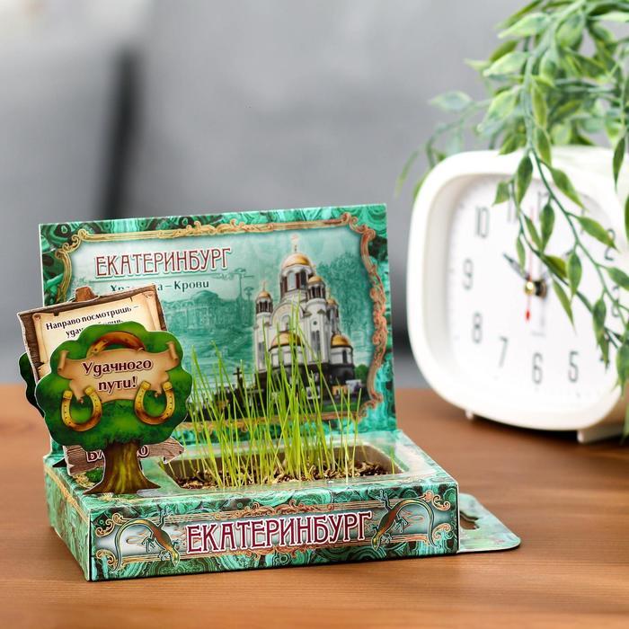 Растущая травка в открытке «Екатеринбург» - фото 703801