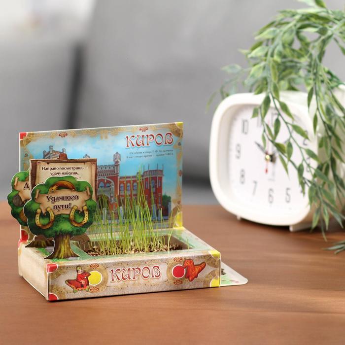 Растущая травка в открытке «Киров» - фото 409624