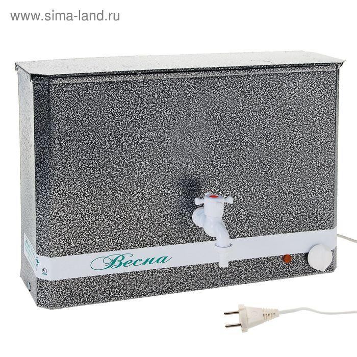 """Бак настенный """"Весна"""", с электроводонагревателем, 1250 Вт, 15 л, цвет серебро"""