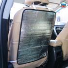 Защитная накидка-незапинайка на спинку сиденья, трёхслойная, 55х40 см, цвет серый