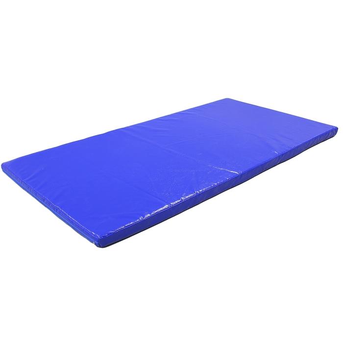 Мат гимнастический 2000х1000х80мм, цвет синий