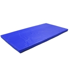 Мат 200 х 100 х 10 см, тент, цвет синий - фото 1599349