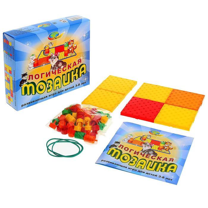 Развивающая игра «Логическая мозаика» - фото 1006842