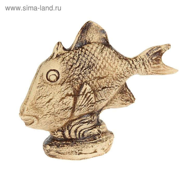 """Садовая фигура """"Рыбка"""" шамот"""