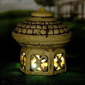 """Садовый светильник """"Султан"""", шамот, 25 см, без элемента питания"""