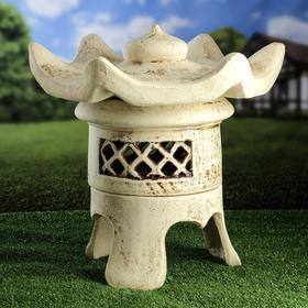 Садовый светильник ''Патай'', шамот, 44 см, без элемента питания