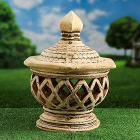 """Садовый светильник """"Сиам"""", шамот, 47 см, без элемента питания"""