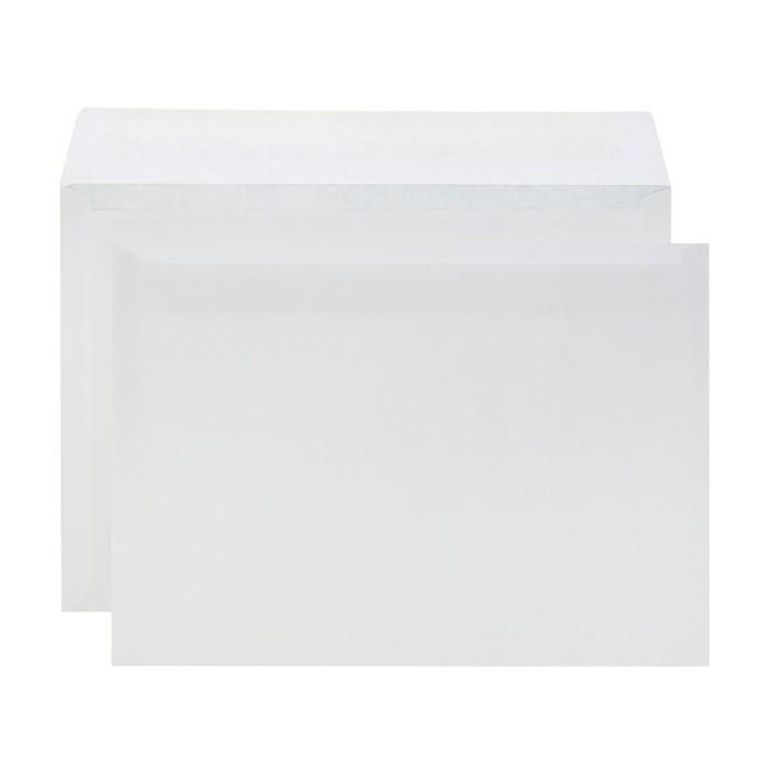 Конверт почтовый С4 229х324мм чистый, без окна, клей, без внутренней запечатки, 90г/м, упаковка 500шт