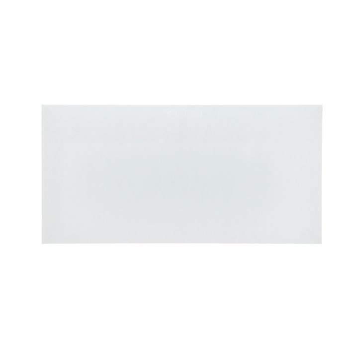 Конверт почтовый Е65 110х220мм чистый, без окна, силиконовая лента, внутренняя запечатка, 80г/м, упаковка 1000шт