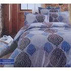 Постельное бельё COTTON LIFE Creton Persia 2сп., размер 200х220 см, 220х240 см, 70х70 см-2 шт., плотность 115 гр/м2, цвет голубой