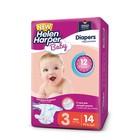 Подгузники Helen Harper Baby, Midi 3 (4-9 кг), 14 шт.