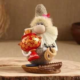 "Amulet ""House Step"", with a samovar, 16 cm, mix"