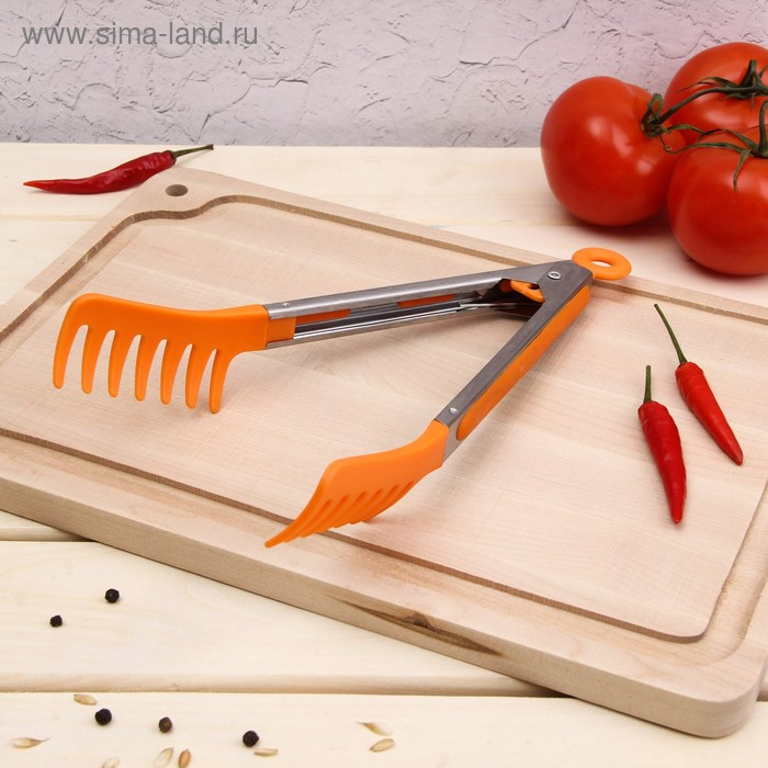 "Spaghetti tongs cm 23 ""picnic"" MIX color"