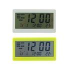 Часы электронные, будильник, температура, пластик, микс