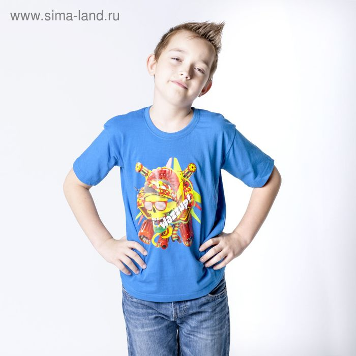 """Футболка детская Collorista """"Череп"""", рост 158-164 см (40), 13-14 лет"""