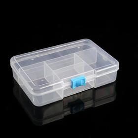 The storage box, 5 compartments, color MIX