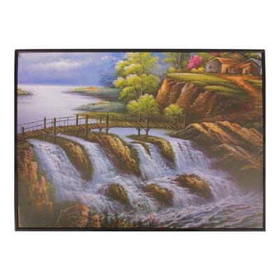 """Картина-постер """"Водопад"""""""