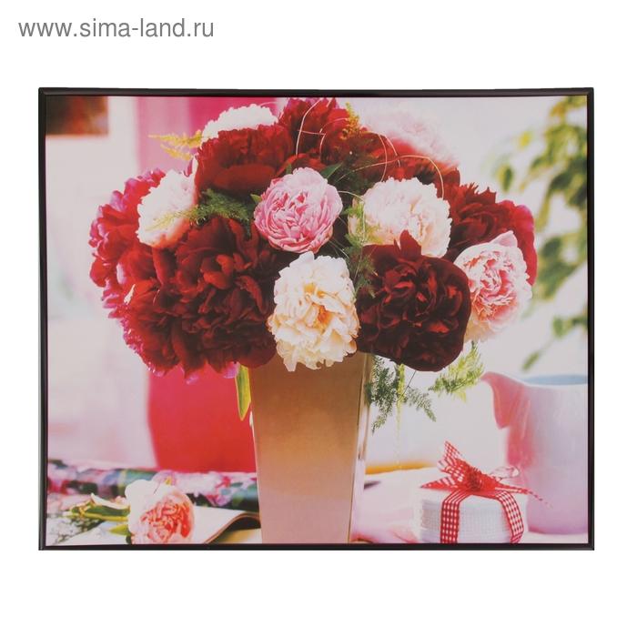 """Картина-постер """"Цветы с подарком"""""""