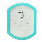 Часы-конструктор под нанесение, прямоугольные, бирюзовые