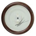 Часы-конструктор под нанесение, круглые, тёмно-коричневые, микс