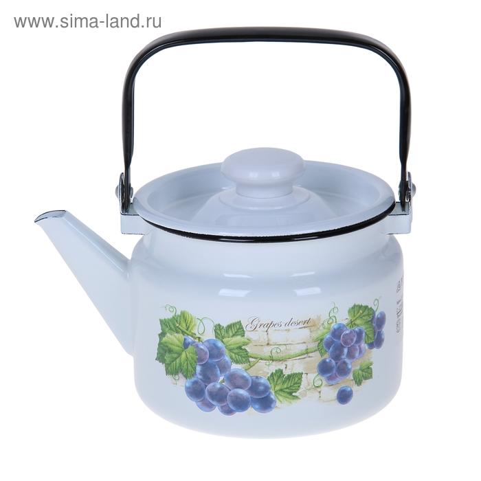 """Чайник 2 л """"Виноградная лоза"""""""