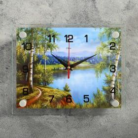 """Часы настенные, серия: Природа, """"Природа"""", 20х26  см, микс"""
