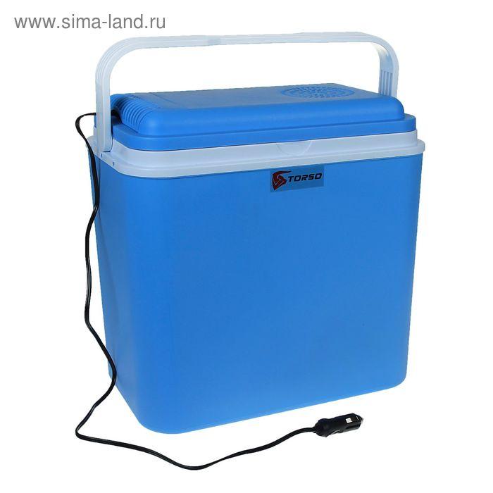 Холодильник автомобильный Torso, без функции подогрева CS-24A, 24 л, 12V, 48W, синий