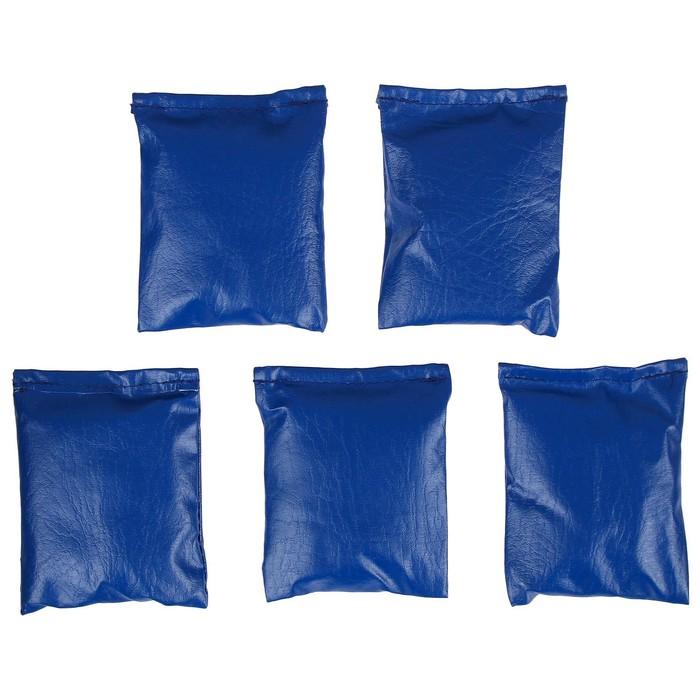 Мешочки для метания, набор 5 шт. по 250 г, цвета микс
