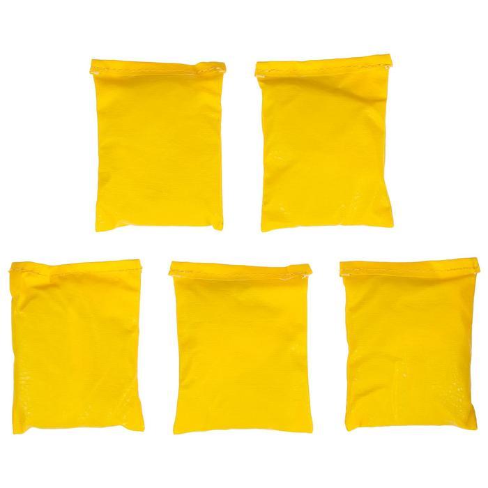 Мешочки для метания, набор 5 шт. по 300 г, цвета микс
