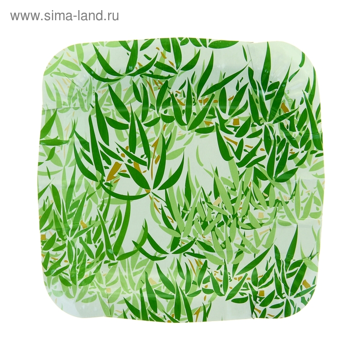 "Тарелка с ламинацией ""Бамбук"", 17,5 см"