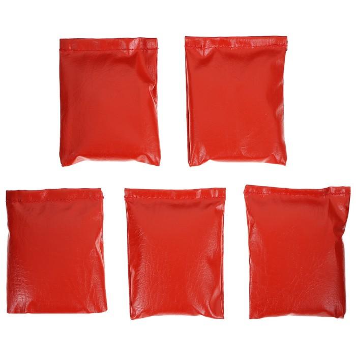 Мешочки для метания, набор 5 шт. по 150 г, цвета микс