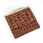 Кошелёк женский, 2 отдела для купюр, для кредитных карт, цвет коричневый
