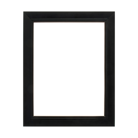 Рама для картин (зеркал) 30 х 40 х 4 см, дерево, «Классика», цвет чёрный