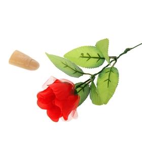 Фокус «Роза с пальцем»