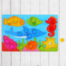 "Frame - liner ""Pick a color. Underwater Kingdom"", 15 items"