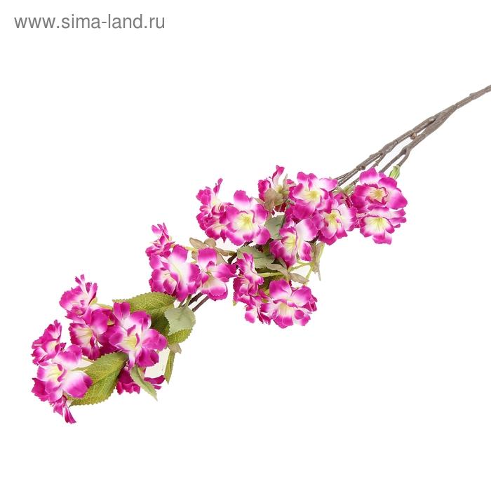 """Цветы искусственные """"Цветущая яблоня"""" фиолетовая"""